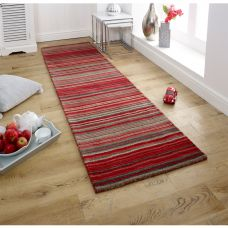 Carter Striped Runner - Red