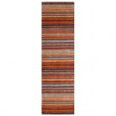 Carter Striped Runner - Rust