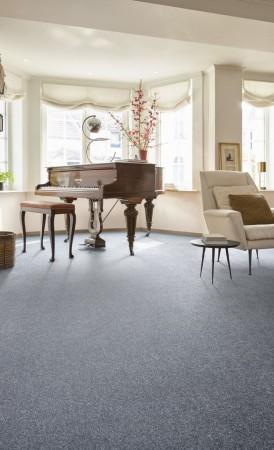 Calgary Plains Saxony Carpet - Sea of Atlantis 350