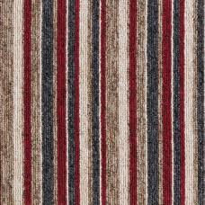 Nordic Loop Stripes Carpet - Red Lines 170