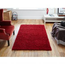 Emma Cosy Rug - Red