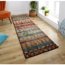 Florenza Striped runner - 90X Multi