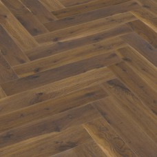 Coffee Oak Herringbone