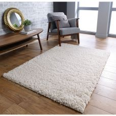 Isla Shaggy Rug - Cream