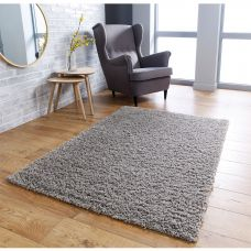 Isla Shaggy Rug - Grey