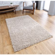 Isla Shaggy Rug - Light Beige