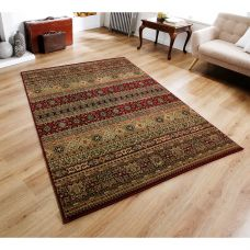 Kendra Traditional Rug - 135R Red Brown Multi