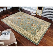Kendra Traditional Rug - 45L Green Gold