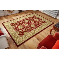 Kendra Traditional Rug - 45M Red Gold