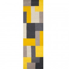 Lexus Geometric Runner - Yellow