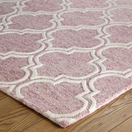 Medina Trellis Rug - Pink