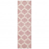 Medina Trellis Runner - Pink
