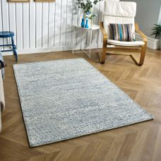 Milano Plain Rug - Blue