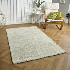 Milano Plain Rug - Green