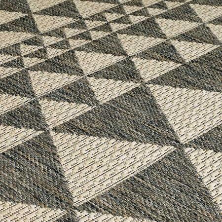 Moda Anti Slip Flatweave Runner - Prism Grey