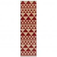 Moda Anti Slip Flatweave Runner - Prism Red