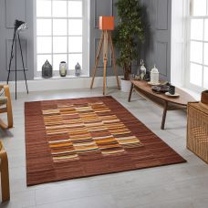 Navajo Striped Rug - Multi
