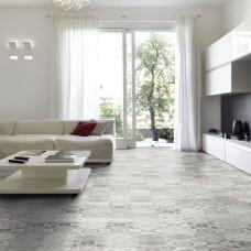 Ornament Laminate Tiles - Estorill Grey White