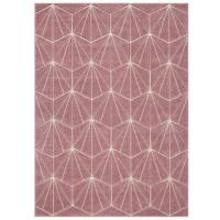Portland Geometric Rug - 750P Pink