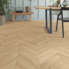 Impressive Patterns - Herringbone Oak Beige