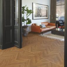 Impressive Patterns - Herringbone Oak Brown