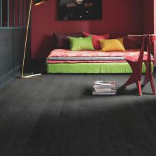 Impressive Burned Planks Oak - Black