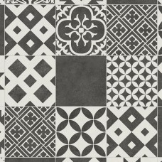 Retro Amadora Black Tile