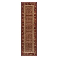 Royal Classic Traditional Runner - 1527R Red Gold