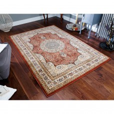 Royal Classic Traditional Rug - 34P Orange Beige