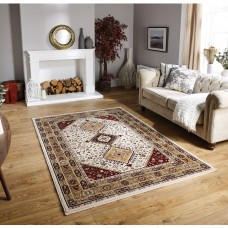 Royal Classic Traditional Rug - 93W Beige Red