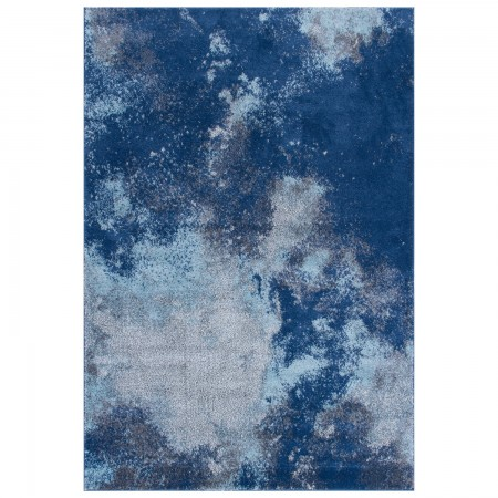 Sansa Distressed Rug - 1802L Blue