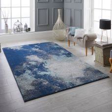 Sansa Distressed Rug - 1802L Blue