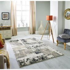 Sansa Distressed Rug - 5501H Grey Cream