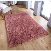Serene Shaggy Rug - Pink