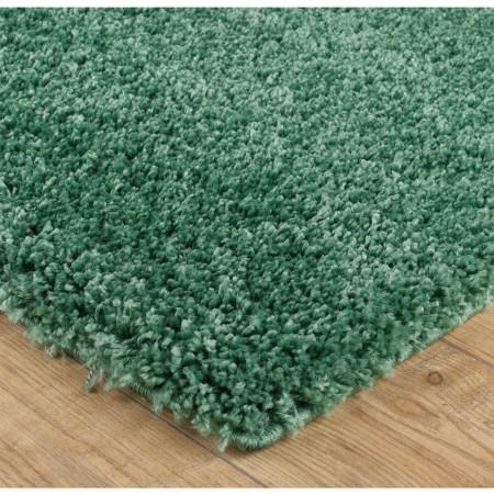 Serene Shaggy Rug - Sage Green