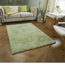 Super Soft Shaggy Rug - Green