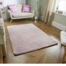 Super Soft Shaggy Rug - Pink
