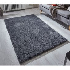 Softness Shaggy Rug - Charcoal