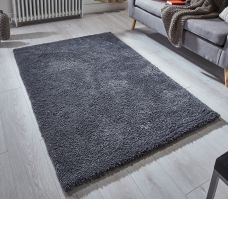 Super Soft Shaggy Rug - Charcoal