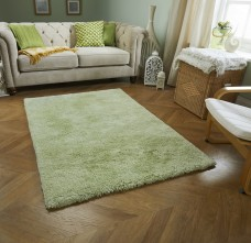 Softness Shaggy Rug - Green