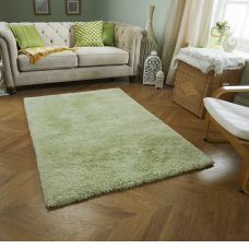 Softness Shaggy Rug - Green