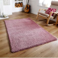 Super Soft Shaggy Rug - Mauve