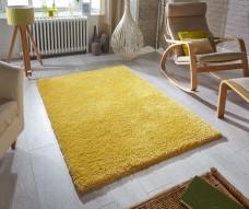 Softness Shaggy Rug - Mustard