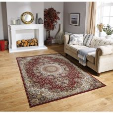 Tabriz Traditional Rug - 2060R Red Gold