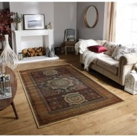 Tabriz Traditional Rug - 35X Red Brown