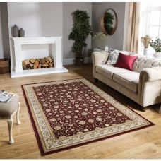 Tabriz Traditional Rug - 501R Red Gold