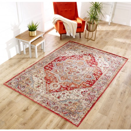 Valeria Traditional Rug - 1803R Red