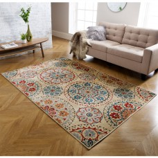 Valeria Traditional Rug - 5997Y Multi Beige