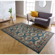 Valeria Traditional Rug - 8024F Blue