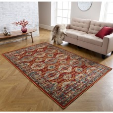 Valeria Traditional Rug - 8024R Red